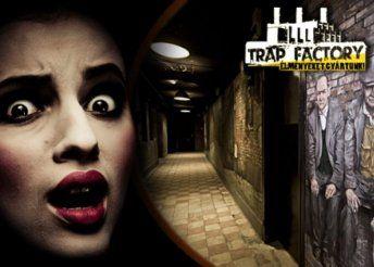 Egyedülálló izgalmak 60 percen keresztül, egy kijutós játék keretében, 2-6 fő részére a Trap Factory-ban