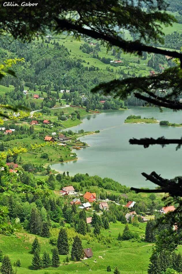 Colibita Lake,  Romania