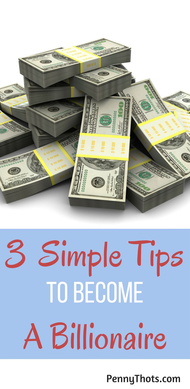 3 Simple Steps To Become A Billionaire   If you want to grow your wealth and become rich like a billionaire, then there is good news. Just 3 simple tricks will help you to achieve financial independence. Click through to learn the 3 tricks! via @jondulin