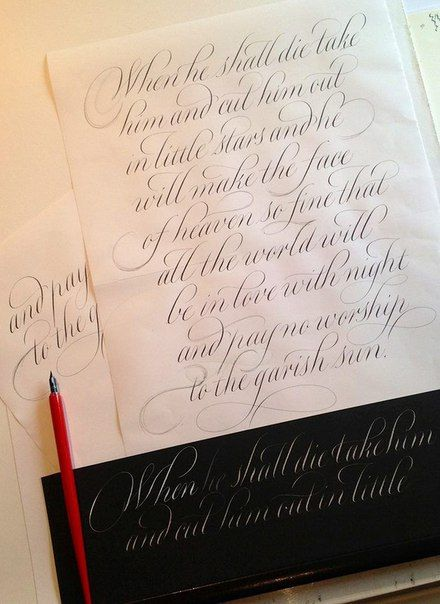 Best copperplate calligraphy images on pinterest