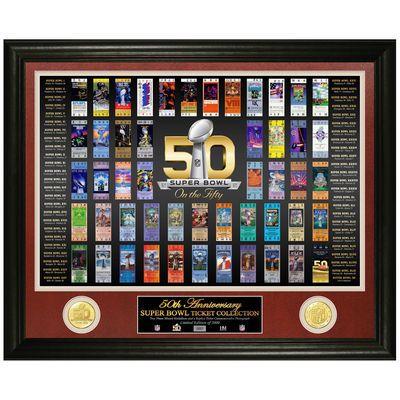 Highland Mint Super Bowl 50 Ticket Photomint