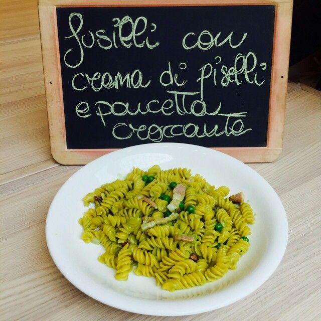 #piattodelgiorno #spaziodonizetti #lunch #fusilli #pasta