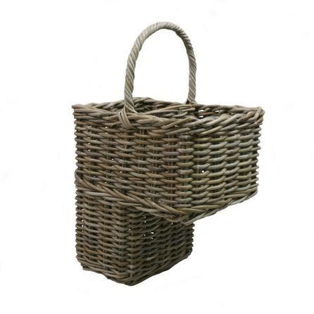 Dorma Grey Stair Basket