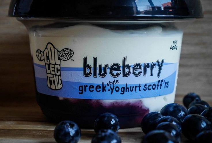 our 400g greek scoff'rs have more of the good stuff and none of those naughty nasties #nobull #blueberry #greekscoffrs