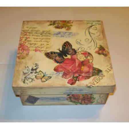Cajas Con Decoupage $ 35.0