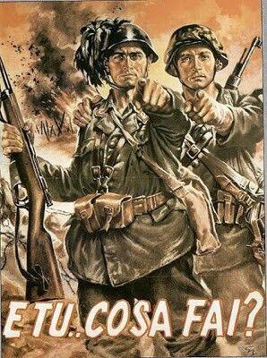Cartel propaganda de laItalia Fascista -2