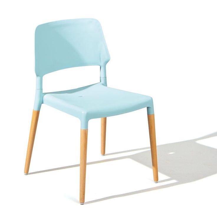 Esszimmer Stuhl Tilde 4 Stück hellblau Jetzt bestellen ...