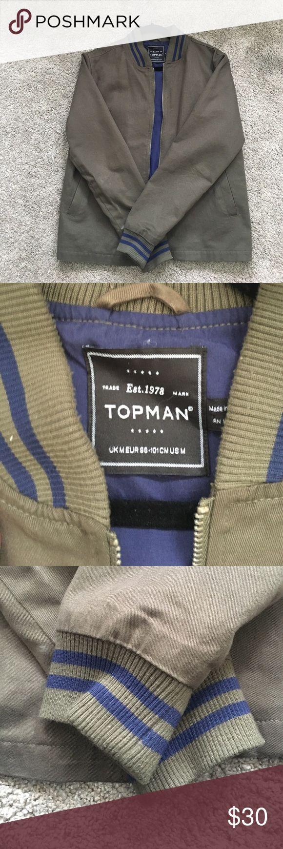 Topman bomber jacket Topman bomber jacket size med worn lightly Topman Jackets & Coats