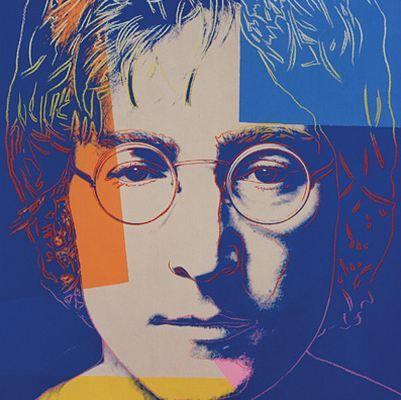 John Lennon, par Andy Warhol