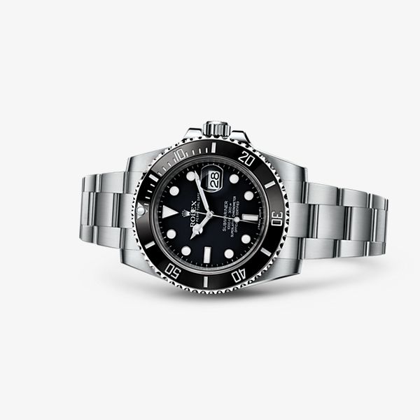 Rolex Submarine Date; 40mm; steel; MSRP$8,550