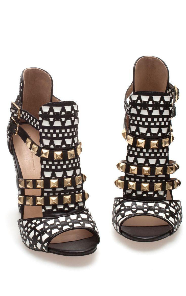 Zara Studded Heels <3 L.O.V.E. Need these