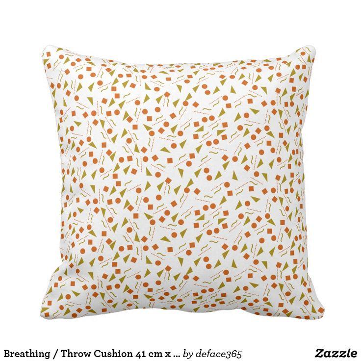 Breathing / Throw Cushion 41 cm x 41 cm
