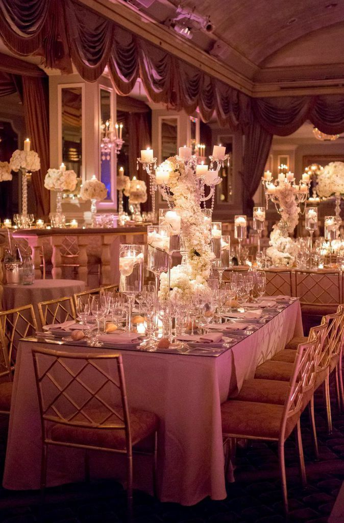 Breathtaking New York Wedding with Ballroom Glamour Decor - MODwedding