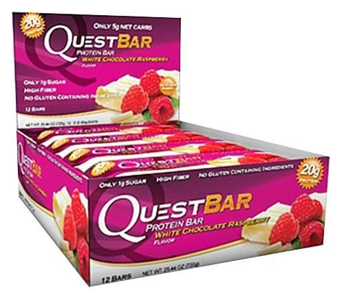 Quest Nutrition, Quest Protein Bar, White Chocolate Raspberry. I want to try these! They look delicious!