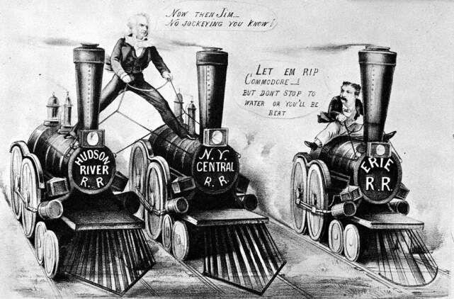 Commodore cornelius vanderbilt and the railroad industry of america