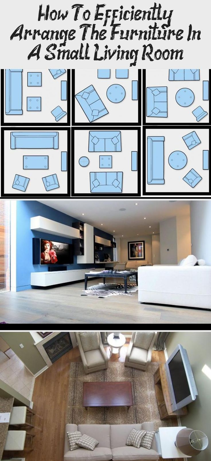 How To Efficiently Arrange The Furniture In A Small Living ...