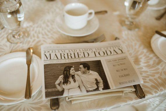 Newspaper Wedding Invitations: 1000+ Ideas About Wedding Newspaper On Pinterest