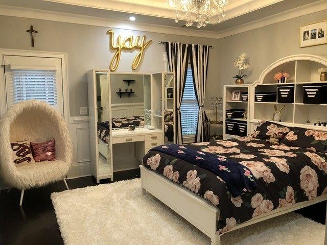 The Emily Meritt Bed Of Roses Comforter Sham Black Blush Girl Bedroom Designs Cute Bedroom Ideas Stylish
