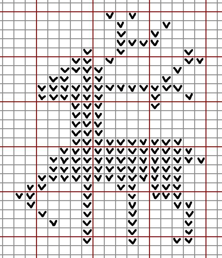 Reindeer Knitting Pattern Chart : Reindeer 1 knitting chart christmas charts Pinterest Knitting charts an...