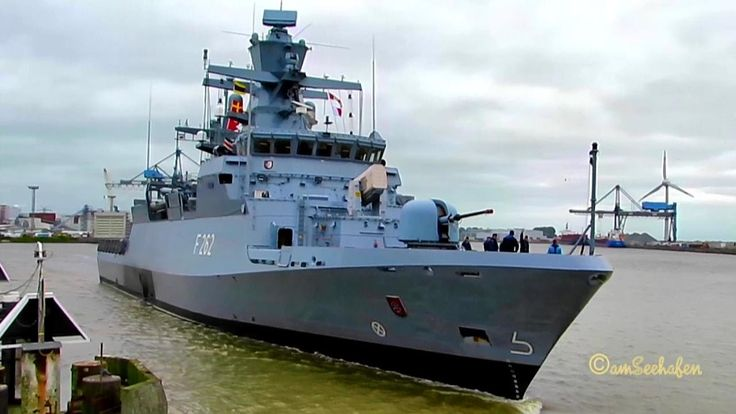 Korvette Erfurt IMO 211912000  Emden  F262 Bundesmarine Marine BRD Deuts...