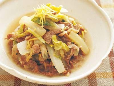 河村 みち子 さんの豚こま切れ肉を使った「豚こまと白菜のトロトロ煮」。細切りにするので、煮込むのもスピーディー。トロッとしてやさしい味に仕上がります。 NHK「きょうの料理」で放送された料理レシピや献立が満載。
