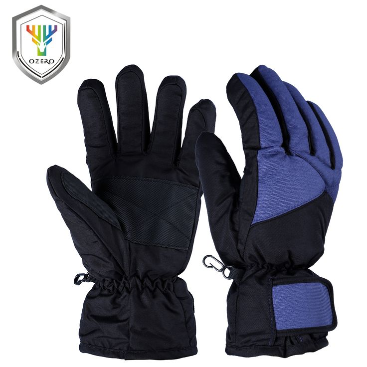 OZERO Winter Warm Cotton Gloves Men's Work Driver Windproof  Protection Wear Safety For Men Woman Gloves 9001
