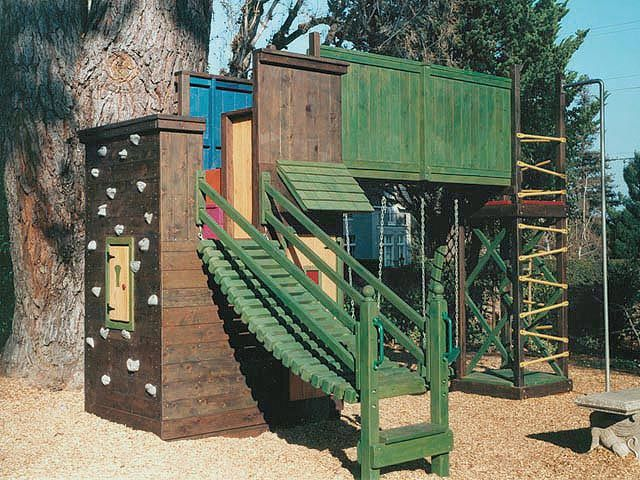 18 Best Images About Tree House Fort On Pinterest Trampoline Sale Monkey And Forts