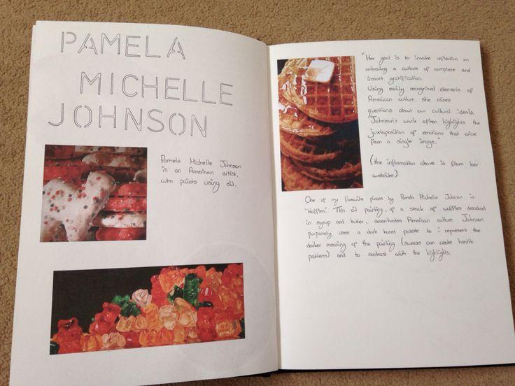 Pamela Michelle Johnson research