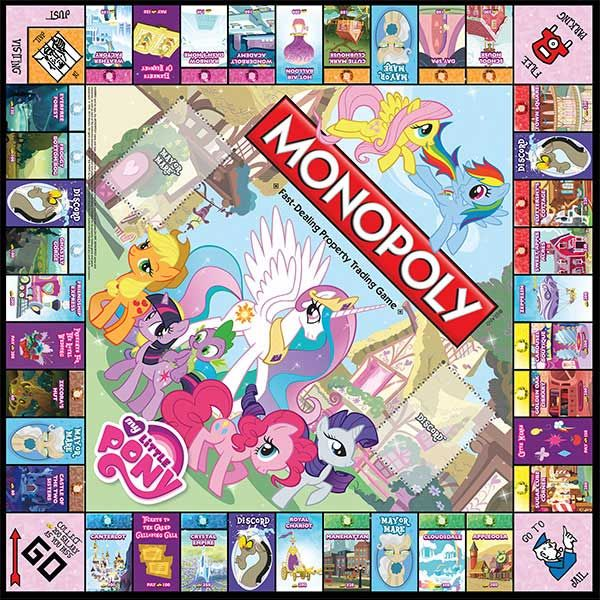 My Little Pony Monopoly!!!!!! Must have!!!!!!! ....I don't even like monopoly