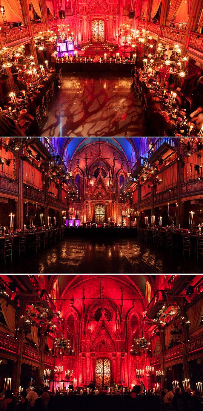 Real Wedding: Dracula Castle Halloween Wedding | Atelier Isabey The Blog