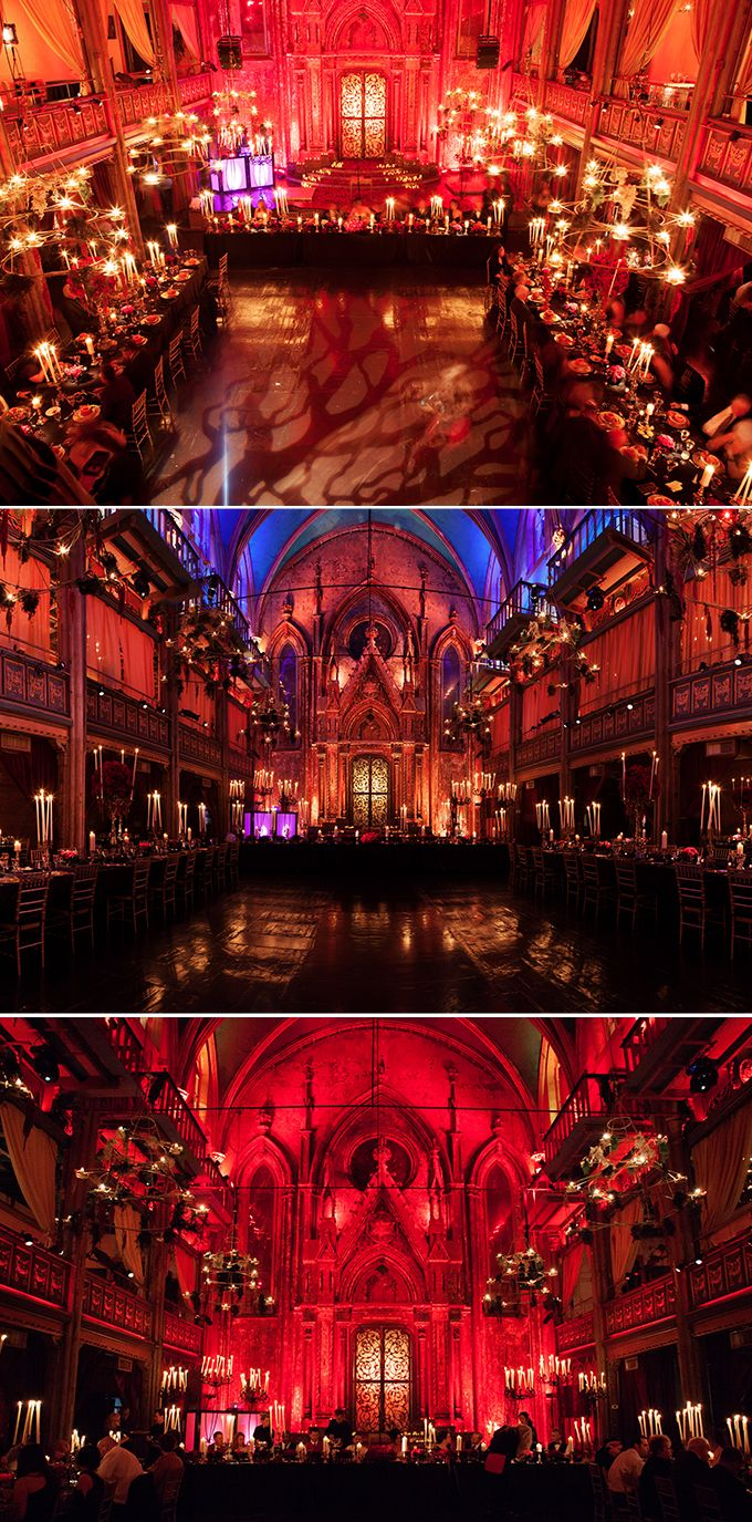 Real Wedding: Dracula Castle Halloween Wedding | Atelier Isabey The Blog