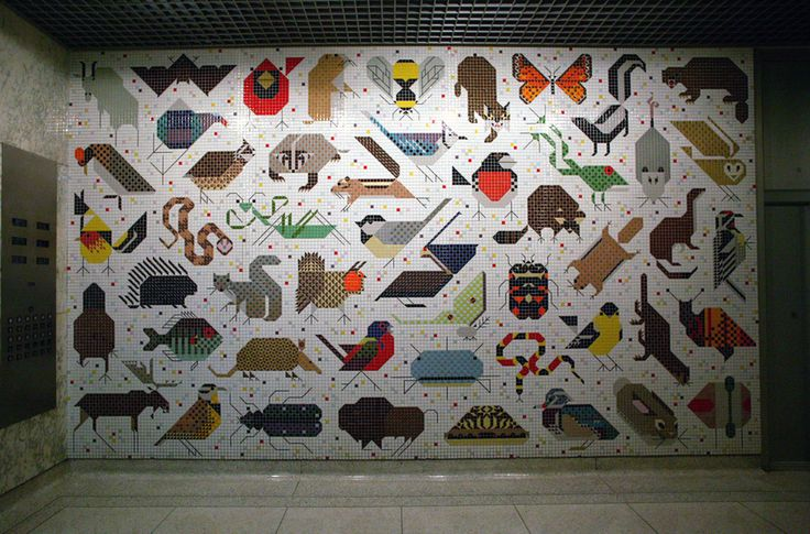 168 best charley harper images on pinterest charley for Charley harper mural cincinnati