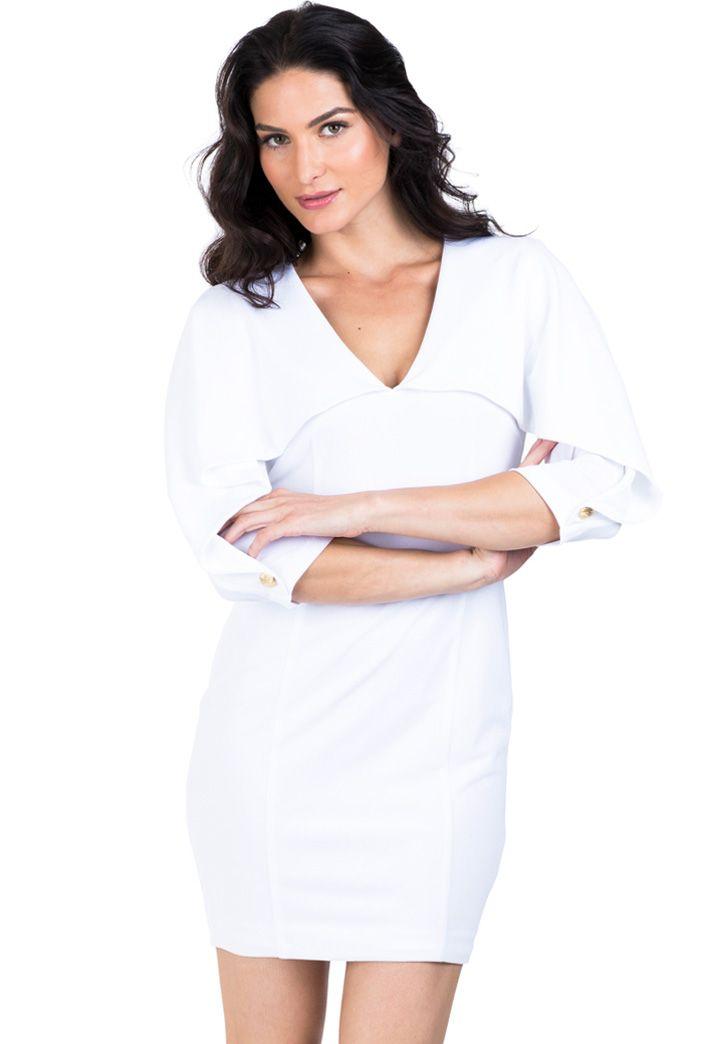 18++ White dress sales information