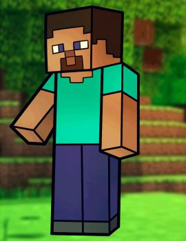 How to Draw Steve from Minecraft, Minecraft Steve, Step by Step, Video Game Characters, Pop Culture, FREE Online Drawing Tutorial, Added by Dawn, May 9, 2013, 3:59:50 pm