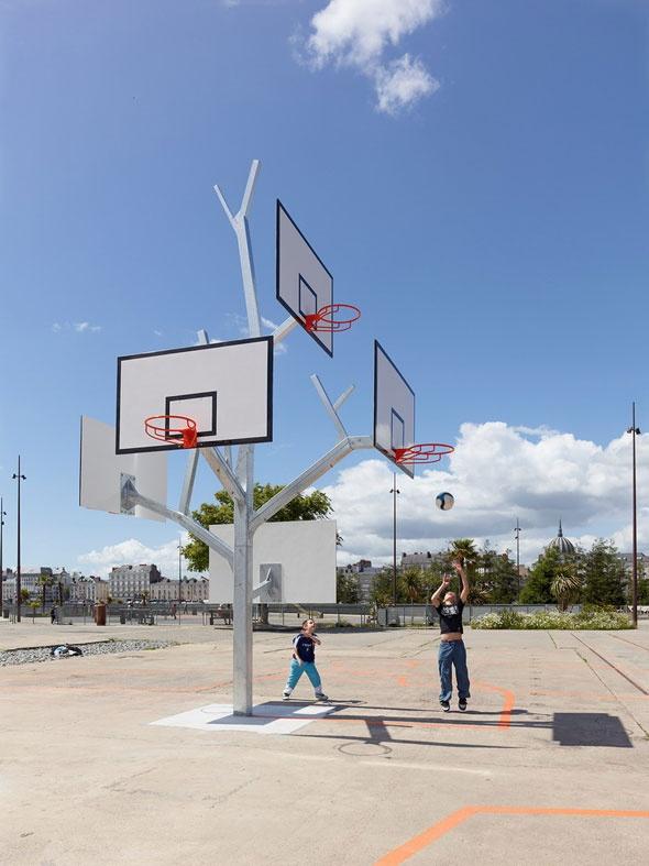 Basketball Tree, Nantes