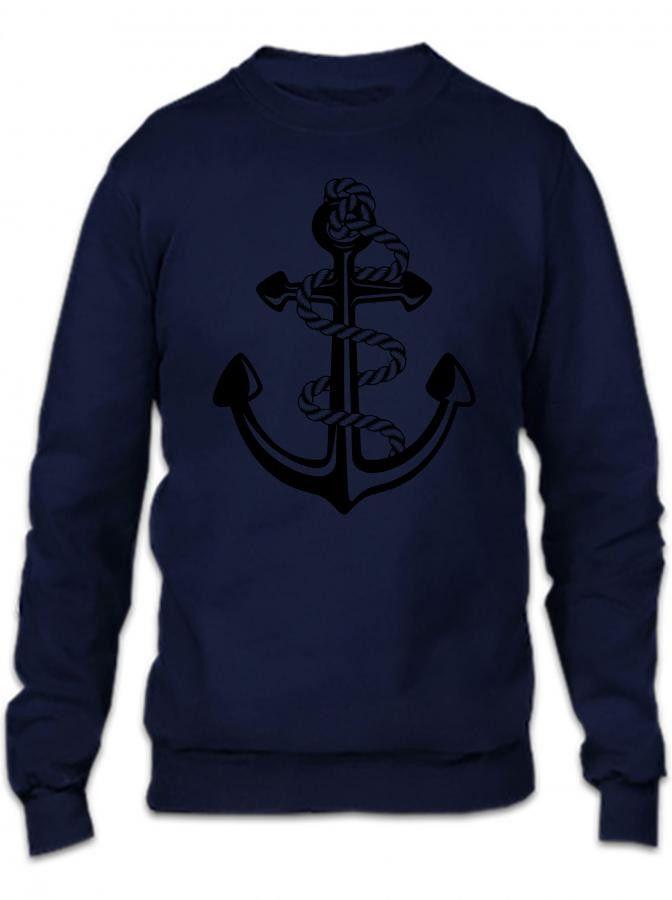 Pablo Escobar's Anchor Crewneck Sweatshirt