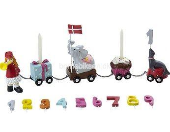 Friisenborg pigegarder fødselsdagstog