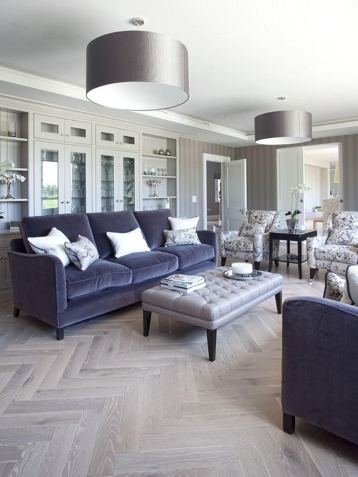 could do this pattern in the living room, then straight in the kitchen