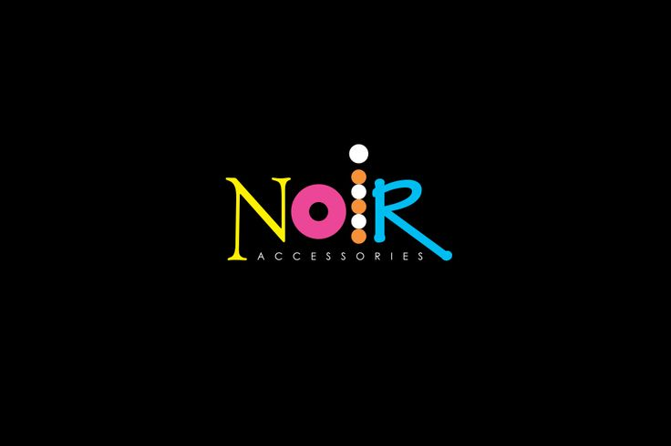Noir Accessories logo design by @Dekoratio Brand Studio