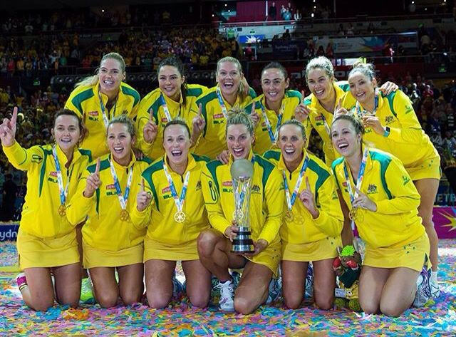 Australian Diamonds -- Winners of the 2015 Netball World Cup