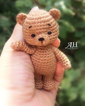 Ursinho em amigurumi- inspiração