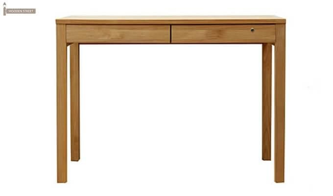 Frodo Study Table Cum Shelf (Natural Finish)-6