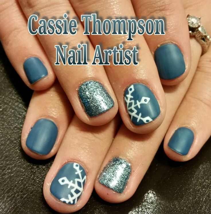 528 best 1 cassie thompson nail artist of vancouver wa images on blue snowflake gel mani by cassie thompson nail artist of vancouver wa follow me on instagram prinsesfo Image collections