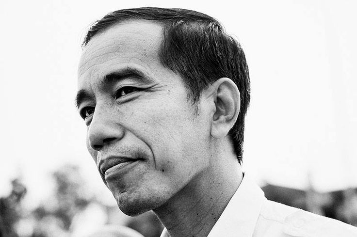 The 7th Indonesia President - Mr Joko Widodo. Photo by Rony Zakaria