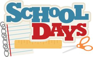 Free Scrapbooking SVG Files, School Days