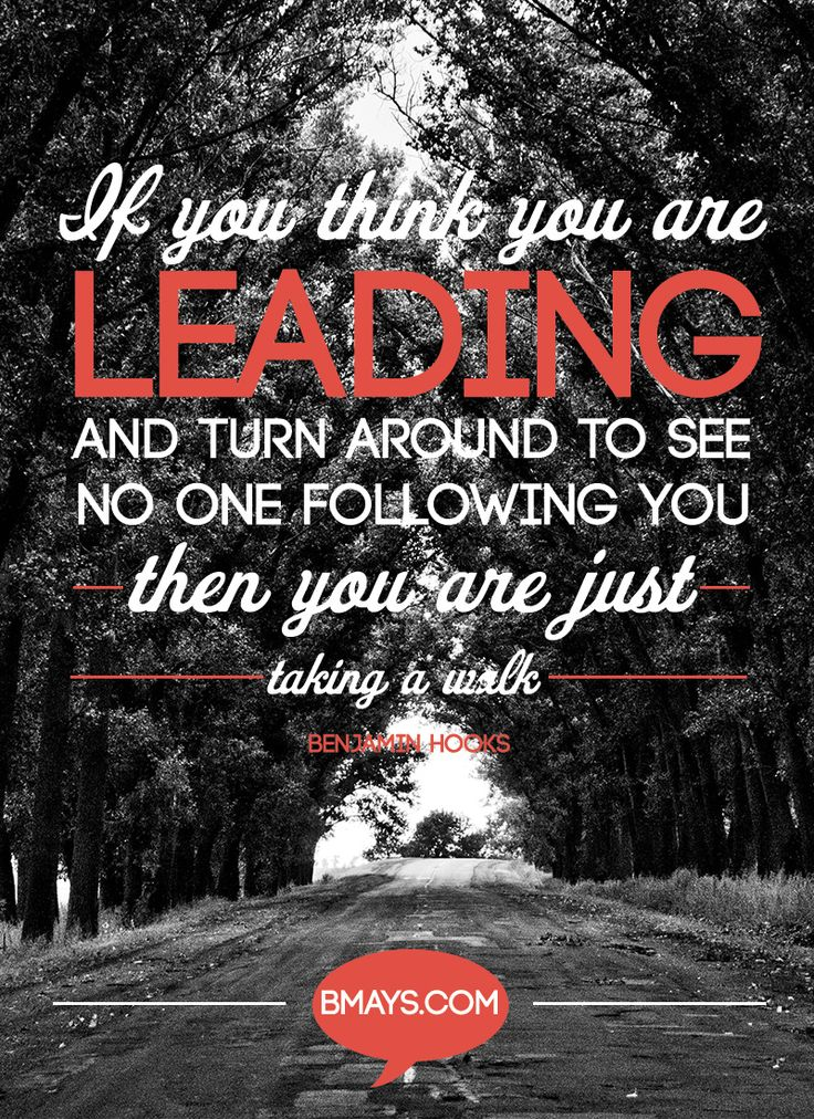 Leadership is about serving others to the point where they ...