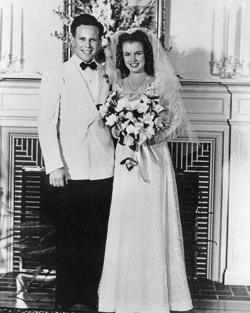 Norma Jean Marries Jim Dougherty On June 19, 1942. Dazzling Wedding Rings. Cobalt Blue Wedding Engagement Rings. Hippie Engagement Rings. Modern Marriage Wedding Rings. Cut Diamond Rings. Alien Engagement Rings. Offbeat Wedding Rings. Wood Hawaii Engagement Rings