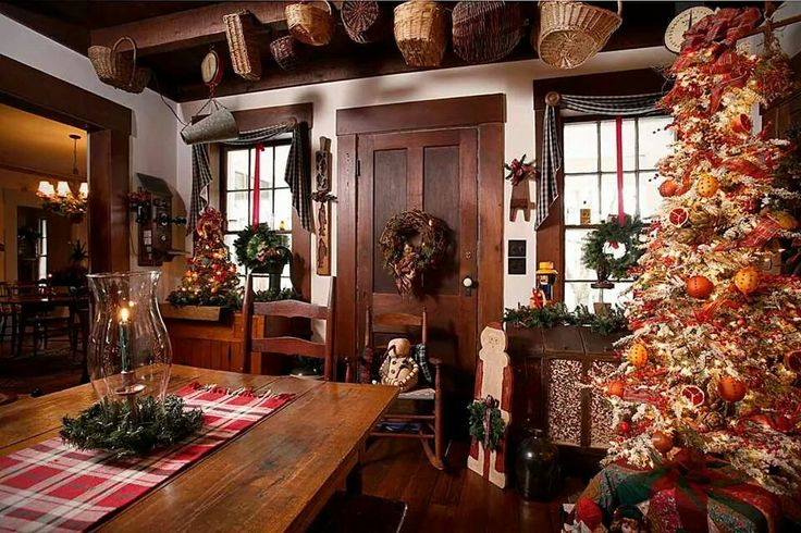 Country Primitive Christmas Country Decor Country Christmas Merry