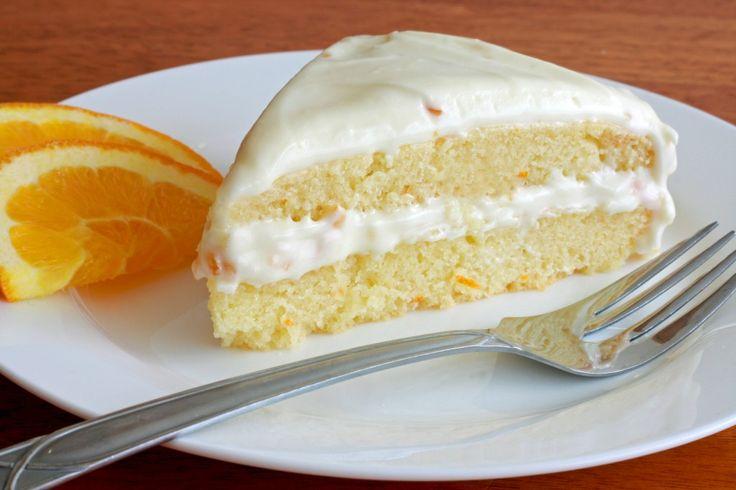 Moist orange buttermilk cake made with a cream cheese orange marmalade ...