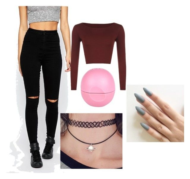 street by cosmina-styles-alina on Polyvore featuring polyvore WearAll Missguided River Island fashion style clothing